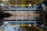 Wrota sztormowe na Kanale Liwka w Pogorzelicy