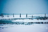 Zima na plaży w Rewalu