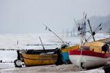 Styczeń na plaży w Rewalu