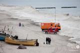 Zima w Rewalu - Poszukiwania Rybaków
