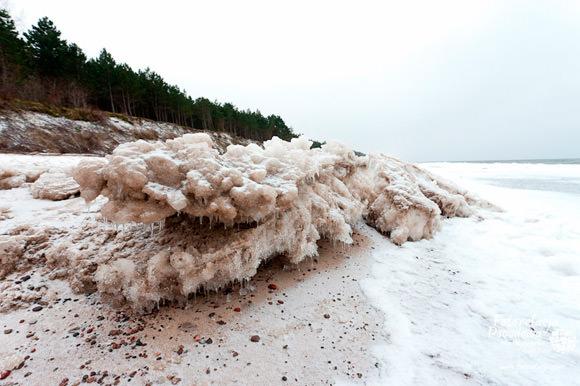 Zima w Gminie Rewal - Pobierowo