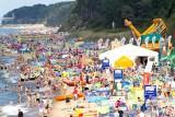 Plaża w Pobierowie - Wtorek, 16 sierpnia 2011